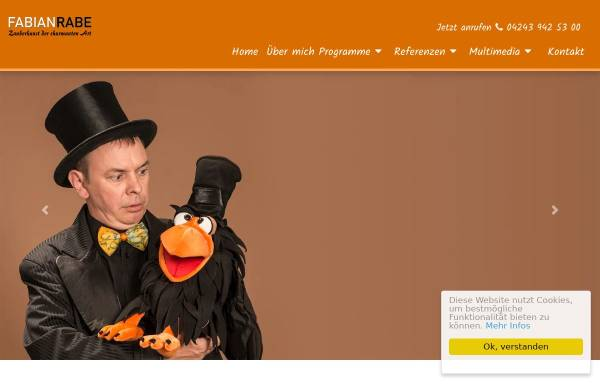 Vorschau von www.fabianrabe.de, Fabian Rabe