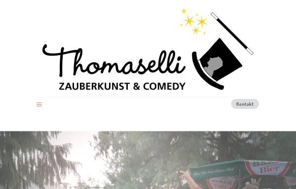 Vorschau von www.zauberer-lindau-bodensee.de, Zauberkunst und Comedy mit Zauberkünstler Thomaselli