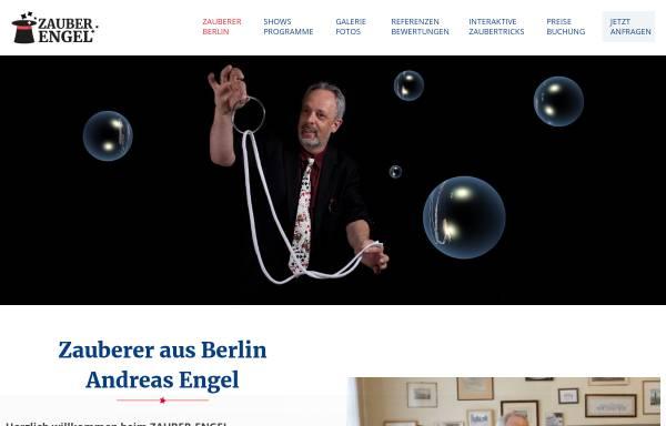 Vorschau von www.zauber-engel.de, Zauber-Engel