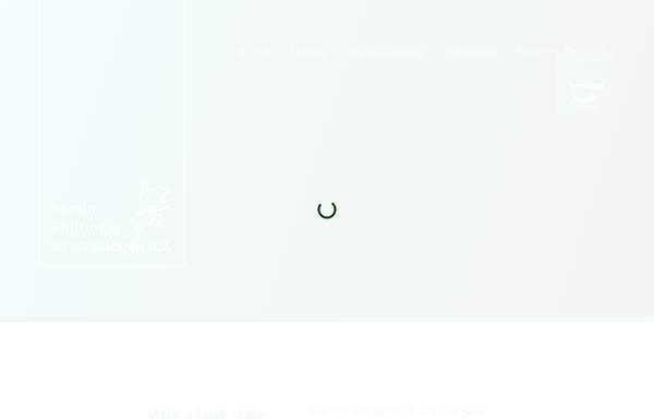 Vorschau von www.ornithologen-thueringen.de, Verein Thüringer Ornithologen e.V.