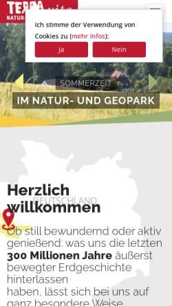 Vorschau der mobilen Webseite www.naturpark-terravita.de, Naturpark TERRA.vita