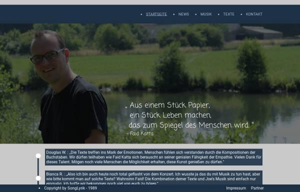 Vorschau von www.songlyrik.de, Songlyrik.de
