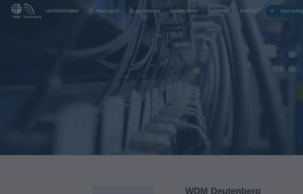 Vorschau von www.wdm-wolfshagen.de, WDM Wolfshagener Draht- und Metallverarbeitung GmbH