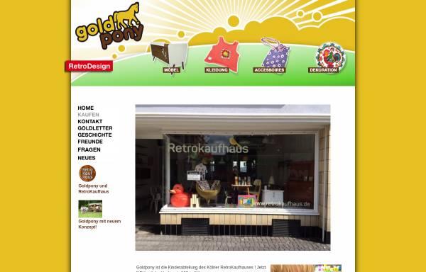 Vorschau von www.goldpony-shop.de, Goldpony, Christiane Schiek-Tajima