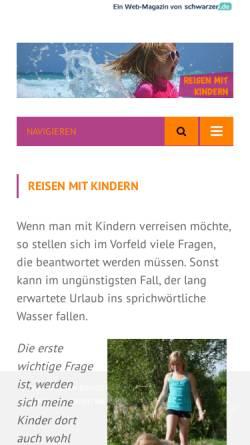 Vorschau der mobilen Webseite www.maxlino.de, maxlino Kinderland, Anja Schelauske