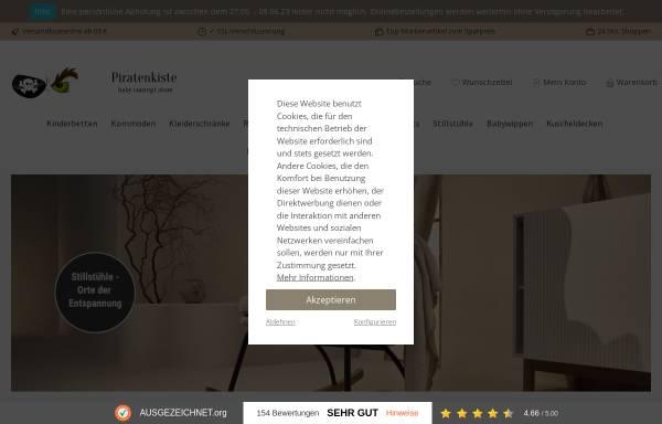 Vorschau von www.kindermoebel.cc, Piratenkiste Konstanz - Exklusive Kindermöbel am Bodensee