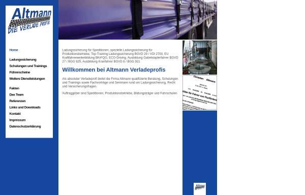 Vorschau von altmann-verladeprofis.de, Altmann, Christian