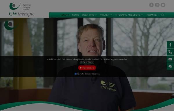 Vorschau von www.cwtherapie.de, CWTherapie GmbH