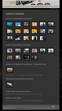Vorschau der mobilen Webseite www.wahre-kunst.de, Lückenhaus, Maximilian