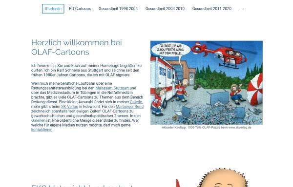 Vorschau von www.olaf-cartoons.de, Olaf-Cartoons