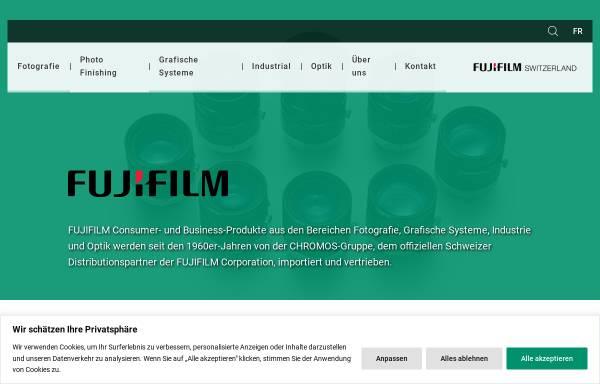 Vorschau von www.fujifilm.ch, Fujifilm AG