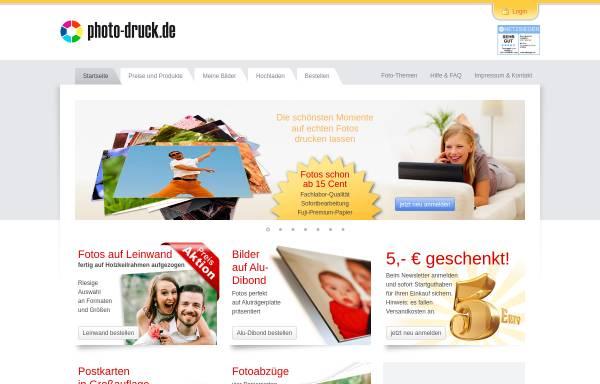 Vorschau von www1.photo-druck.de, Gamma Commerz GmbH - Photo Druck
