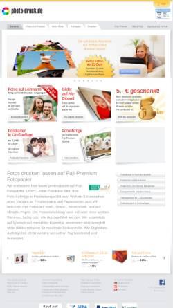 Vorschau der mobilen Webseite www1.photo-druck.de, Gamma Commerz GmbH - Photo Druck