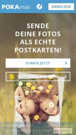 Vorschau der mobilen Webseite pokamax.com, POKAmax GmbH