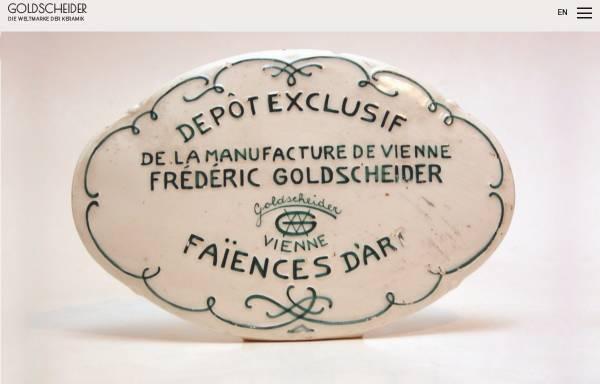 Vorschau von www.goldscheider.de, Goldscheider Keramik