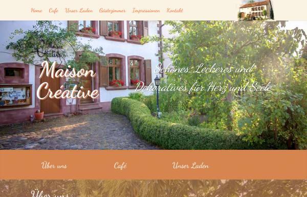 Vorschau von www.maison-creative.de, Maison Creativ Werkstatt für Textilkunst