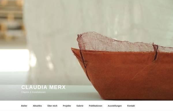 Vorschau von www.claudiamerx.de, Merx, Claudia