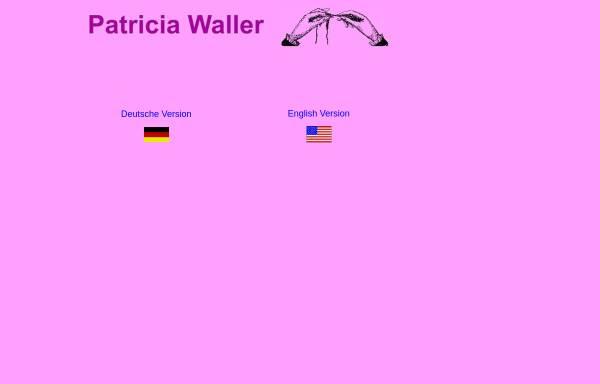 Vorschau von www.patriciawaller.com, Waller, Patricia