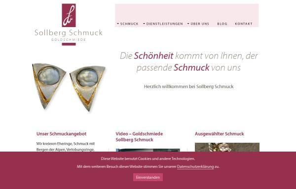 Vorschau von www.sollberg-schmuck.ch, Goldschmiedeatelier Sollberger