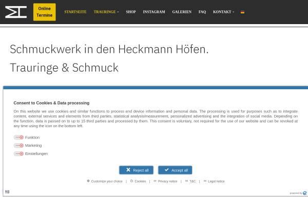Vorschau von www.mvh-schmuckwerk.de, mvh-schmuckwerk, Michael von Hobe