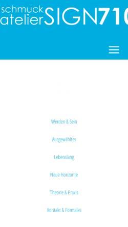 Vorschau der mobilen Webseite www.pescado710schmuck.de, Pescado 710