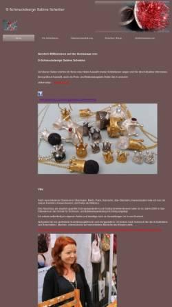 Vorschau der mobilen Webseite www.s-schmuckdesign.com, S-schmuckdesign
