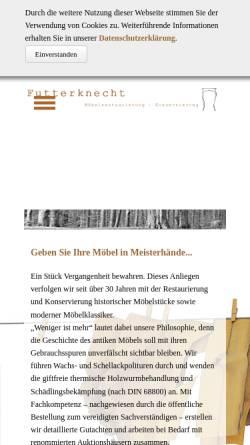 Vorschau der mobilen Webseite www.futterknecht.de, Futterknecht, Ralf