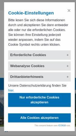 Vorschau der mobilen Webseite www.aerztekammer.at, Ärztekammer Österreich