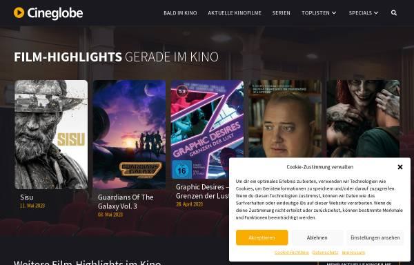Vorschau von www.cineglobe.de, CINEGLOBE.de