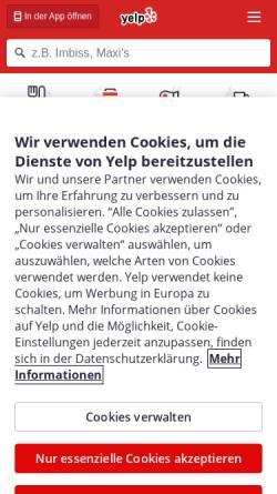 Vorschau der mobilen Webseite hamburg.cityvox.com, Cityvox