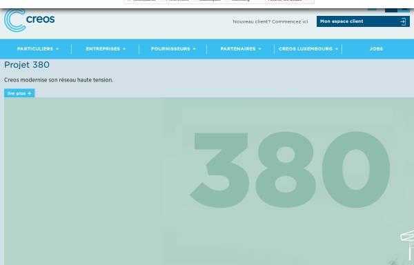 Vorschau von www.creos.net, Creos