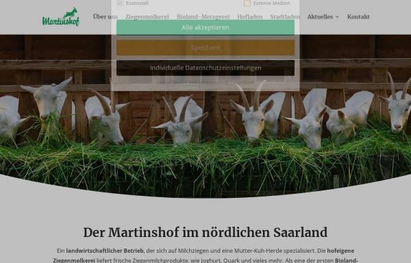 Vorschau von www.martinshof.de, Martinshof Biobus GmbH