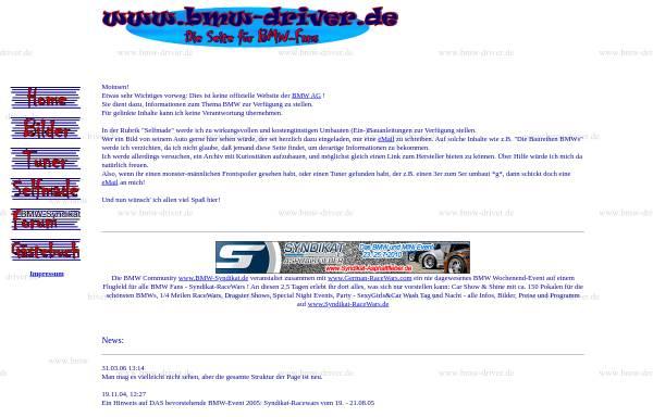 Vorschau von www.bmw-driver.de, BMW-Driver