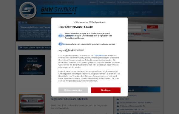 Vorschau von www.bmw-syndikat.de, BMW-Syndikat