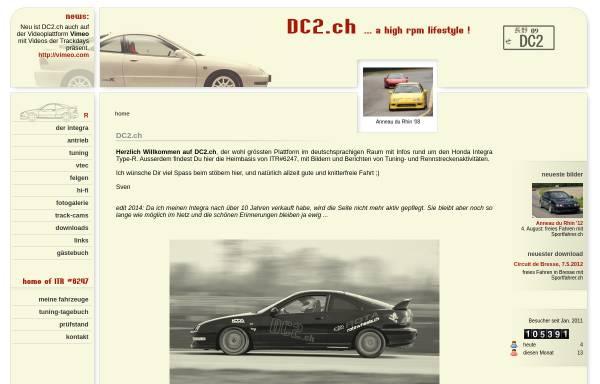 Vorschau von www.dc2.ch, Integra DC2