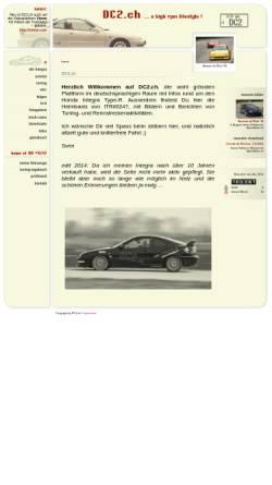 Vorschau der mobilen Webseite www.dc2.ch, Integra DC2