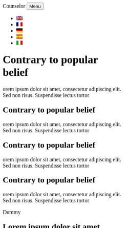 Vorschau der mobilen Webseite www.hsc-online.de, HSC Home Supply + Care GmbH & Co. Verwaltungs KG