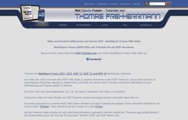 Vorschau von www.tommyherrmanndesign.com, Tutorials von Thomas Frei-Herrmann