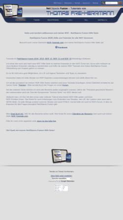 Vorschau der mobilen Webseite www.tommyherrmanndesign.com, Tutorials von Thomas Frei-Herrmann
