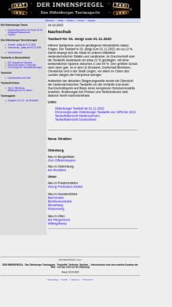 Vorschau der mobilen Webseite www.derinnenspiegel.de, Der Innenspiegel