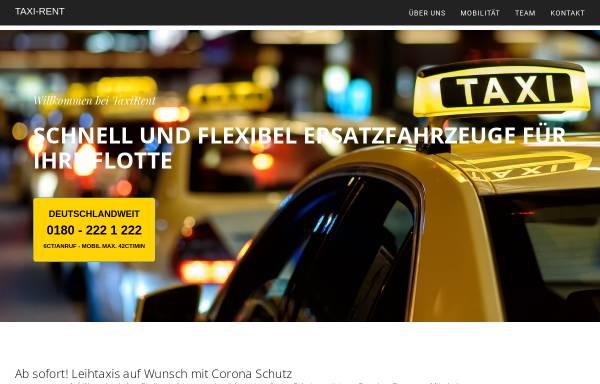 Vorschau von www.taxirent.de, Taxi-Rent-Partner Süd/Nord GmbH