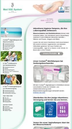 Vorschau der mobilen Webseite www.medsse.de, Med.SSE System GmbH