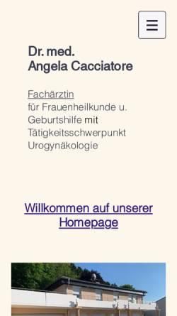 Vorschau der mobilen Webseite www.kirsch-abel.de, Kirsch, Dr. med. Margareta und Agnes Abel Ärztinnen für Gynäkologie und Geburtshilfe