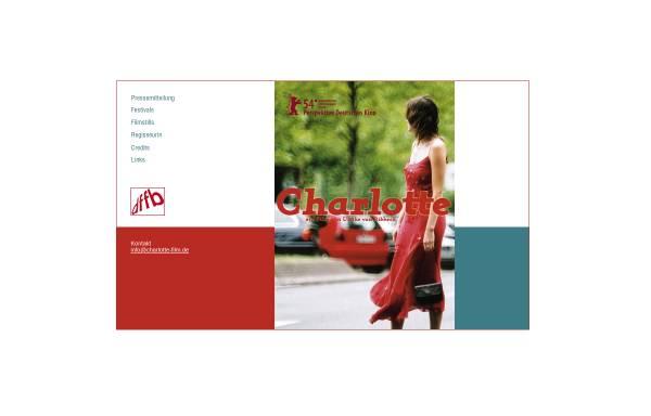 Vorschau von www.charlotte-film.de, Charlotte - ein Film von Ulrike von Ribbeck