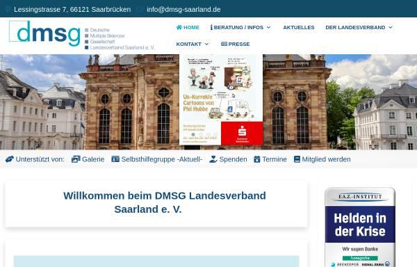 Vorschau von www.dmsg-saar.de, DMSG Deutsche Multiple Sklerose Gesellschaft Landesverband e.V.