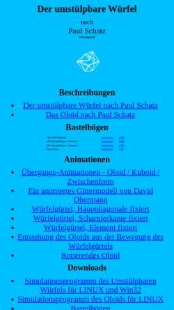 Vorschau der mobilen Webseite www.fzk.at, Umstülpbare Würfel