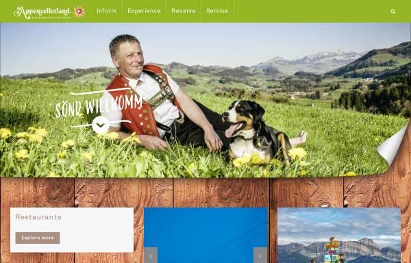 Vorschau von www.appenzellerland.ch, Portal Appenzellerland