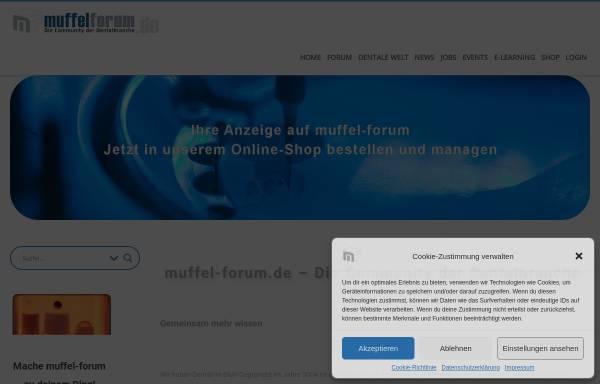 Vorschau von www.muffel-forum.de, Muffel-Forum