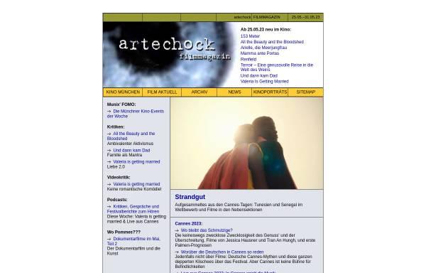 Vorschau von www.artechock.de, Artechock