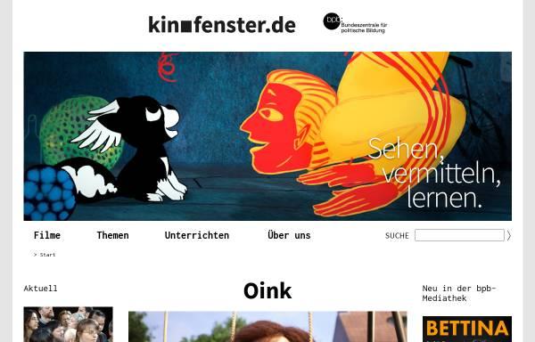 Vorschau von www.kinofenster.de, Kinofenster.de